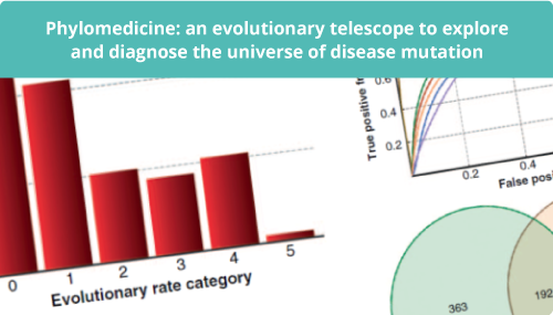 Phylomedicine: an evolutionary telescope to explore and diagnose the universe of disease mutation slide #2